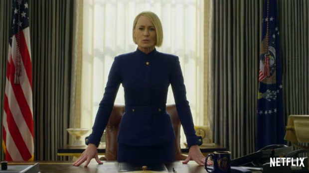 Tráiler de la temporada 6 de 'House of cards'