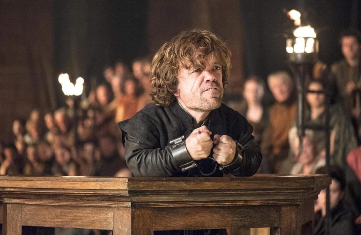 El actor Peter Dinklage, uno de los protagonistas de Juego de tronos.