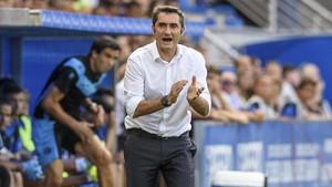 Valverde, en el campo del Alavés.