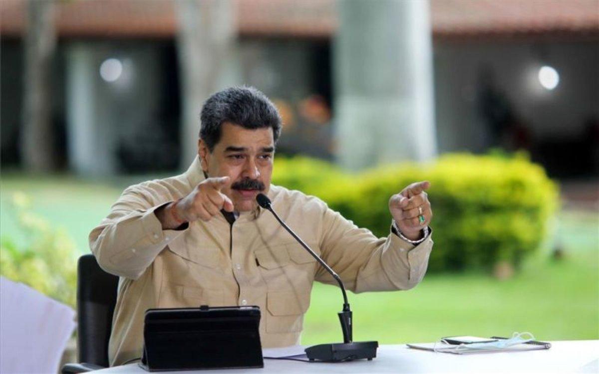 Nicolás Maduro, el presidente de Venezuela.