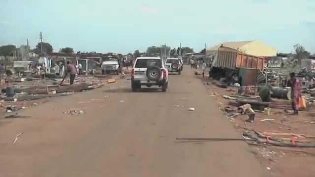 Vídeo de la ONU explicando la crudeza de la guerra que asolaSudán del Sur.