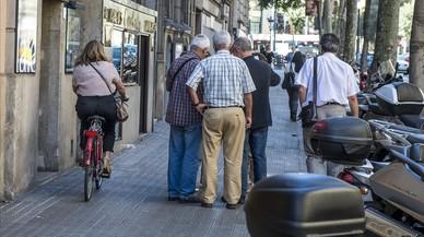¿Está lista Barcelona para sacar a las bicis de las aceras?