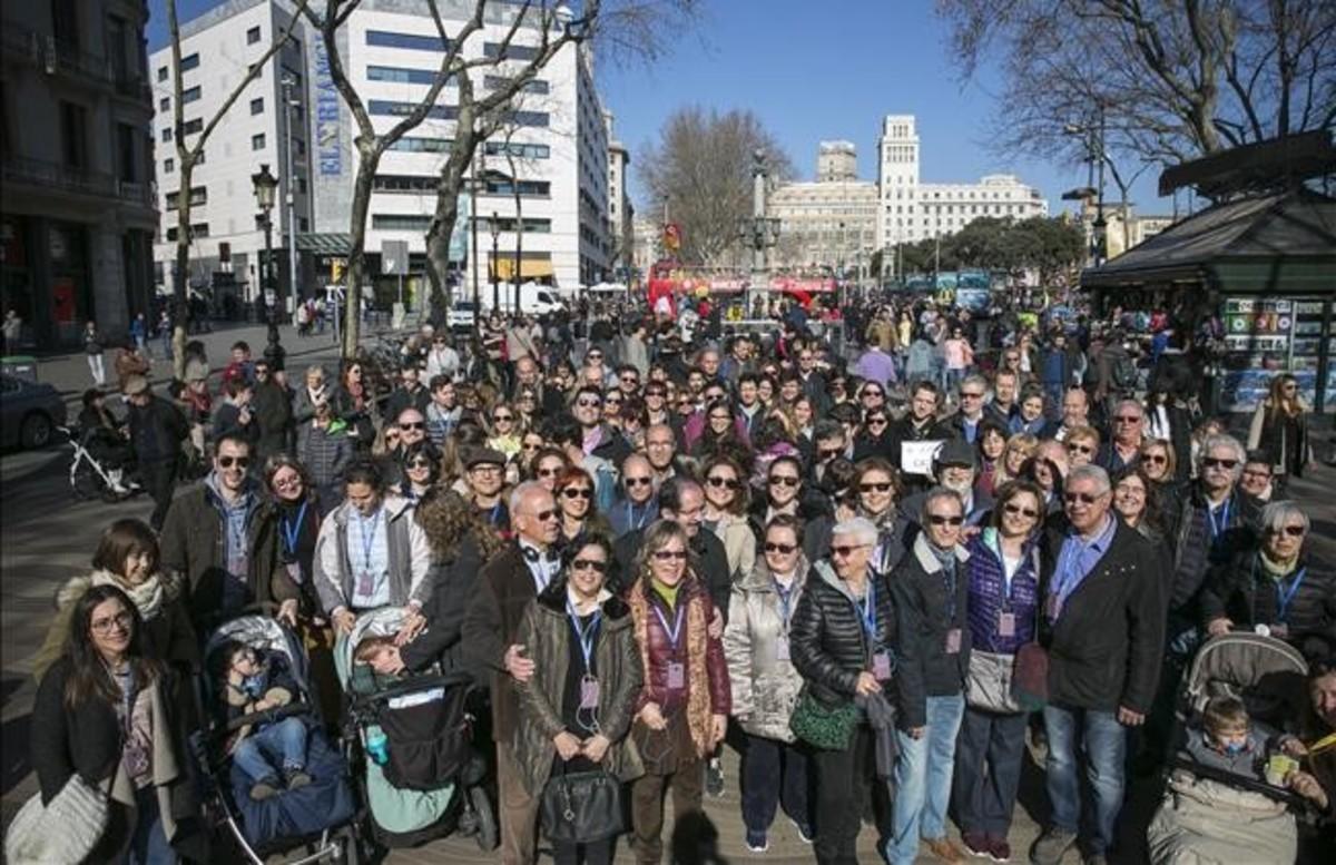 Els guies turístics rebutgen una Barcelona massificada de visitants