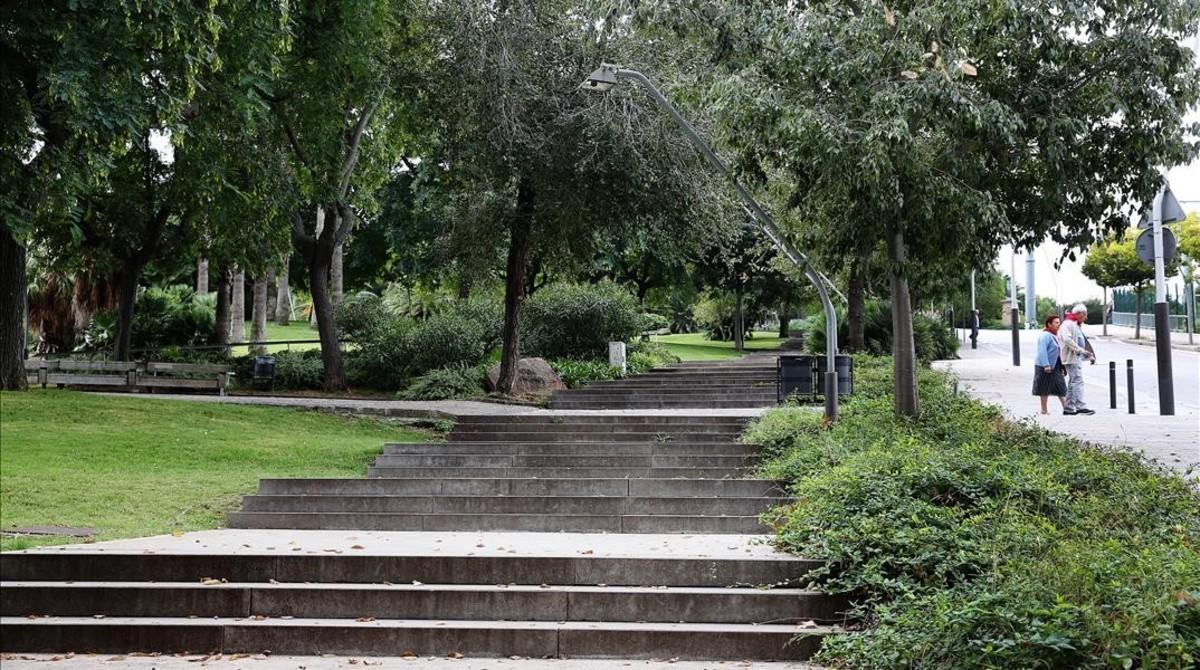 Antiguo cementerio judío de Barcelona, en la montaña de Montjuïc.