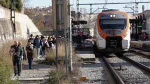 """El soterrament del tren a Sant Feliu: """"Quan vegi les màquines m'ho creuré"""""""