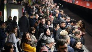 Així t'afectarà la vaga del metro de Barcelona de dilluns, 8 d'abril