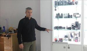 El fotógrafo Ignasi García, de Sant Llorenç des Cardassar.
