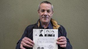 Antonio Ruiz, encarcelado en 1976 por la ley de peligrosidad y rehabilitación social.