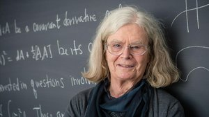 Karen Uhlenbeck, en una imagen difundida por la Norwegian Academy of Science and Letters