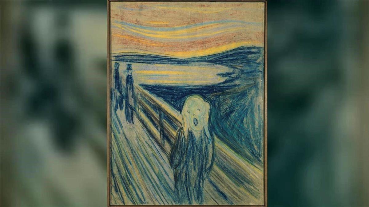 La figura d''El crit' de Munch no crida: es tapa les orelles