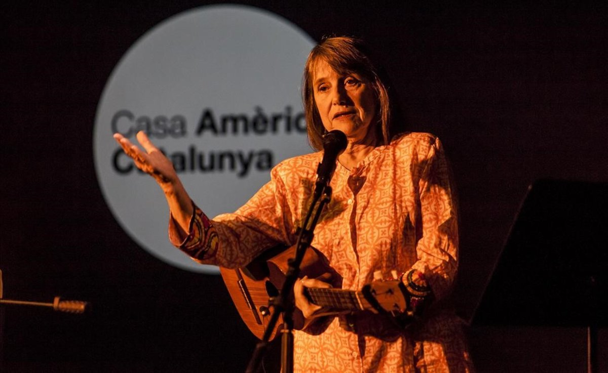 Cecilia Todd a Casa Amèrica: Veneçuela parla cantant
