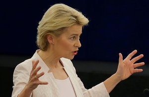 Von der Leyen, nova presidenta de la Comissió Europea
