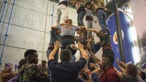 Torres humanes que esborren fronteres