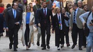 Casado: «Sánchez està en mans de si Torra decideix pressionar o no aquesta setmana»