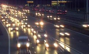 Una autopista holandesa próxima a Amsterdam.