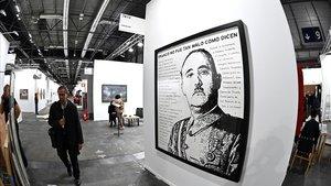Una paròdia de Franco agita ARCO