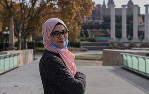 Aminah Akram, joven de 22 años estudiante de Educación Infantil.