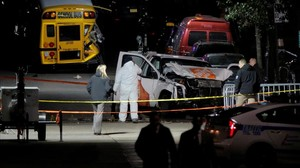 zentauroepp40769856 police investigate a pickup truck used in an attack on the w171101093152