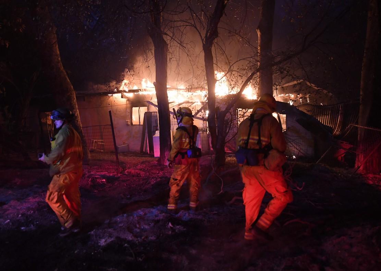 El Fuego En California Quema Una Superficie Superior A Nueva York