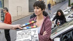 television rtve graba en benidorm el thriller fugitiva paz vega
