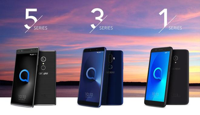 Nueva serie de móviles Alcatel.