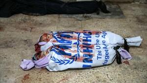 bombardeos en guta, siria