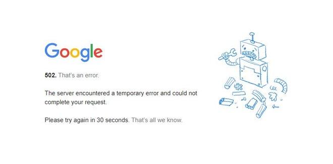 YouTube, Gmail, Drive y más servicios de Google se cayeron a nivel mundial