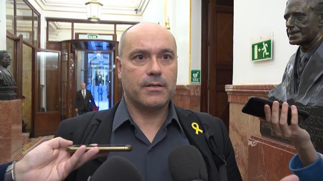 """Jordi Salvador, sobre l'incident amb Borrell: «No he escopit mai a ningú"""""""