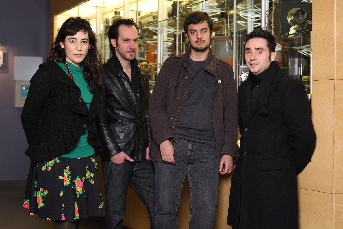 Aguilar, Segura, Pastor y Bayona, cuatro directores de la ESCAC.