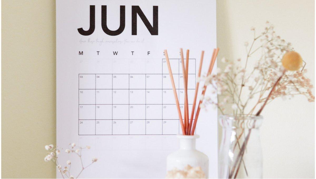 Fechas clave del mes de junio para el ecosistema emprendedor.