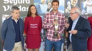 Albert Ramos, premio Jugador 10 APT según los periodistas especializados.