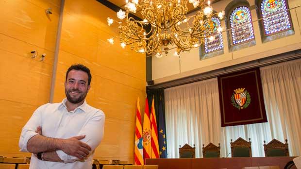 Álex Pastor, alcalde de Badalona desde el pasado 20 de junio.