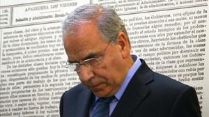 El exvicepresidente del Gobierno Alfonso Guerra.
