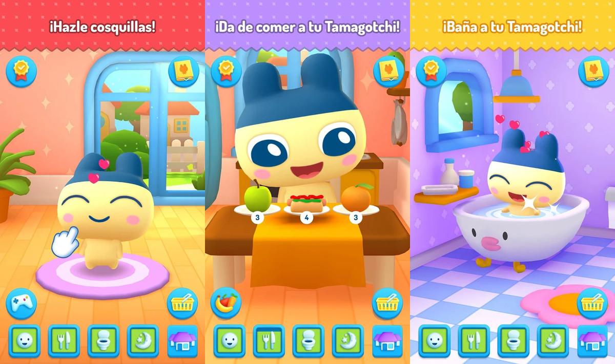 La app My Tamagotchi Forever.