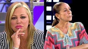 """Belén Esteban critica la cuidada imagen de Isabel Pantoja en su regreso: """"¿Ha ido ella a por el tinte?"""""""