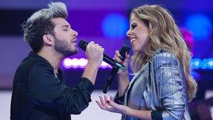 Blas Cantó y Pastora Soler en el especial 'Quédate conmigo'.