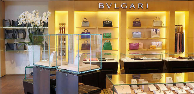 Boutique Bulgari de la Roca Village.