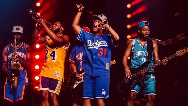 Bruno Mars, en un concierto en Tokio, dentro de la gira que este miércoles ha pasado por Barcelona