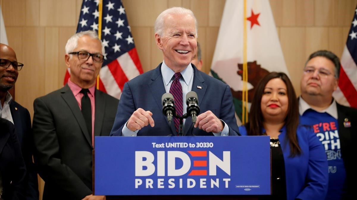 Joe Biden lidera intención de voto frente a Trump, según una encuesta