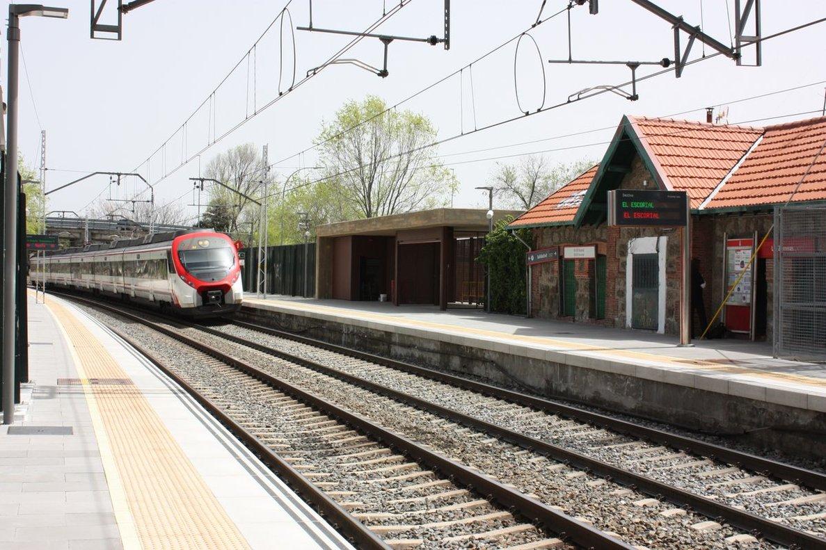 Estación de Cercanías.