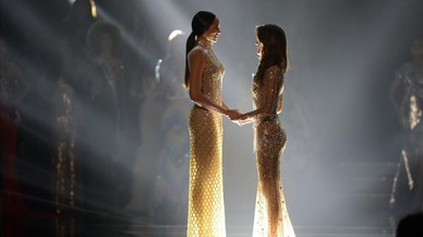 Cerimònia de coronació de Miss Univers a l'Asia Arena a Pasay (Filipines).