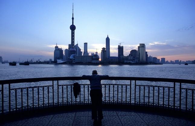 La ciutat de Xangai i els seus gratacels.