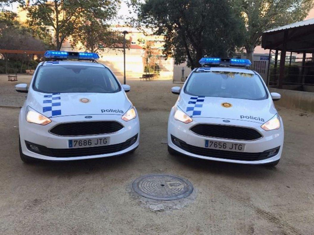 Coches de la policía local de Montcada i Reixac.