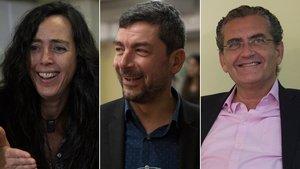 Cuadro candidatos independentistas se disputan hoy presidir la Cambra de Comerç