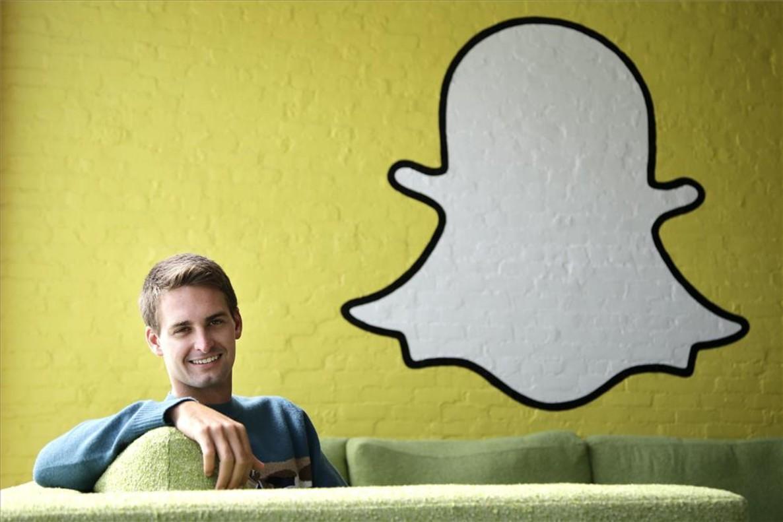 El consejero delegado de Snapchat, Evan Spiegel.