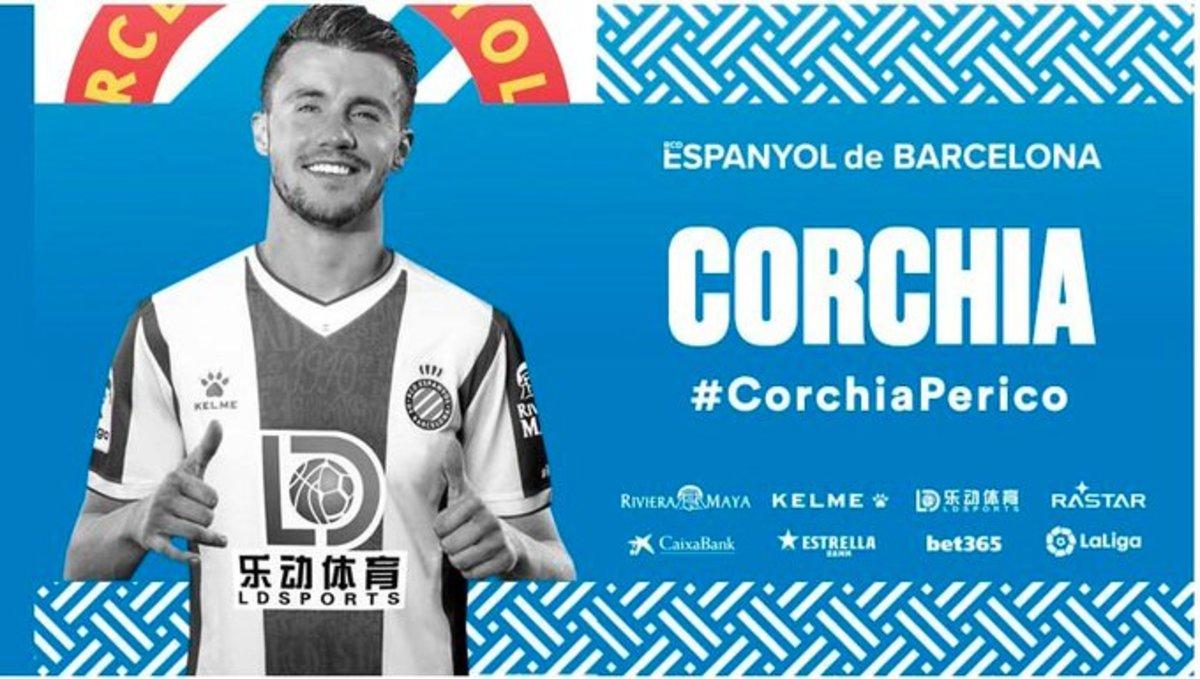 Corchia, sisena incorporació de l'Espanyol