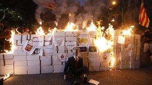 Manifestación de los CDR