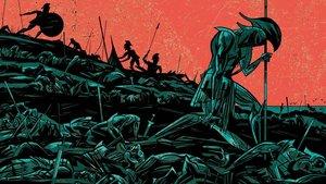 Doble página de 'La cólera'.