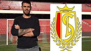 Valdés en la imagen que colgó en su cuenta personal de Twitter.