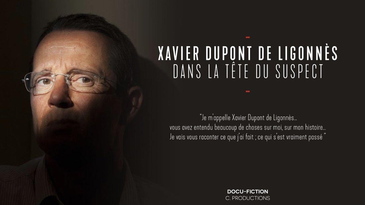 Imagen promocional de la cadena francesa M6 sobre Xavier Dupont.